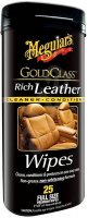 MEGUIAR'S Gold Class Rich Leather Wipes doprodej