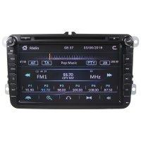 """Autorádio s navigací 8""""LCD pro VW / Škoda"""