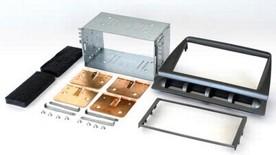 2DIN redukce pro Kia Picanto -08 stříbrný