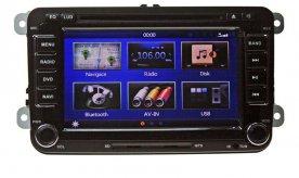 """Autorádio pro VW, s 7"""" LCD, GPS, ČESKÉ MENU"""
