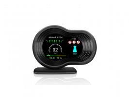 Palubní DISPLEJ SPORT LCD, OBDII, FULL + GPS + navigační