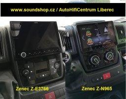 Náhradou za Zenec Z-E3766 je Zenec Z-N965 / set pro Ducato,Boxer,Jumper