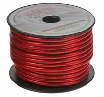 Kabel 10 mm, červeně transparentní, 25 m bal