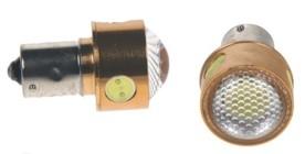 LED žárovka 12V s paticí BA 15s bílá, 4LED