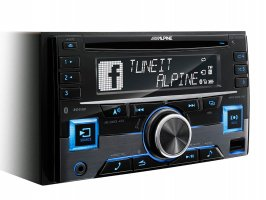 ALPINE CDE-W296BT 2DIN autorádio s CD,MP3,USB