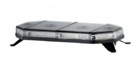 LED světelná rampa, oranžová, 12-24V, homologace