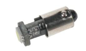 LED žárovka 12V s paticí BA 9s bílá, 1LED/3SMD