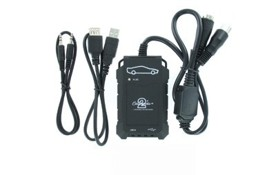 HYUNDAI / KIA Adaptér pro ovládání USB zařízení OEM rádiem Hyundai, Kia/AUX vstup