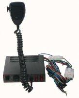 Profesionální výstražný systém s mikrofonem 80W