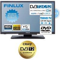 """Televize Finlux 22"""" TV22FDMF4760 -T2 SAT DVD 12V"""