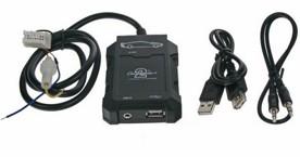 NISSAN Adaptér pro ovládání USB zařízení OEM rádiem Nissan/AUX vstup