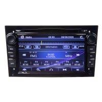 "Autorádio pro Opel 2004-2010 s 7"" LCD, GPS, ČESKÉ MENU"