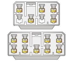 Konektor ISO Mitsubishi >97
