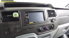 FORD TRANSIT - autorádio s DVD a stropní LED monitor