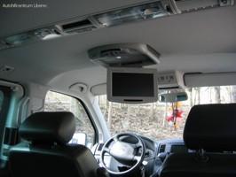 VW T5 stropní monitor s DVD přehrávačem