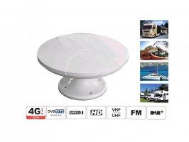 DVB-T2 digitální TV anténa Maximum pro karavany a lodě
