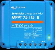 MPPT SMART solární regulátor Victron Energy 75/15