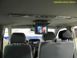 VW T5 Transporter - dvd,bluetooth,stropní monitor,couvací kamera