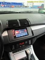 BMW X5 (2006) - instalace DVD,navigace,handsfree, couvací kamera