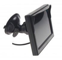 """LCD monitor 5"""" černý s přísavkou"""