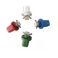 Mini LED B8,5 žárovka do palubní desky červená/3SMD