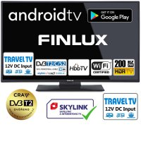 """Finlux 24"""" s DVB-T2 / Android / WiFi TV24FHMF5770"""