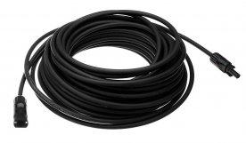 Solární kabel SOL 6.0 mm2 černý 15m s koncovkami