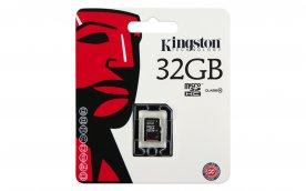 Paměťová karta KINGSTON micro SDHC 32GB class 10