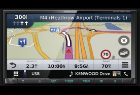 Autorádio s navigací Kenwood DNX-7190DABS