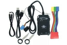 AUDI Adaptér pro ovládání USB zařízení OEM rádiem Audi/AUX vstup