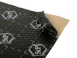 Antivibrační a tlumící materiál STP Black Silver - shop pack