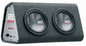 "MTX Audio RTP8x2 8"" subwoofer"
