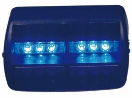 PREDATOR LED vnitřní, 12V, modrá