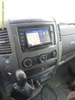 VW CRAFTER - autorádio s DVD, navigací a handsfree