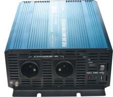 Sinusový měnič napětí z 24/230V + USB, 1500W