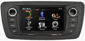 ZENEC Z-E5514M 2DIN autorádio s navigací, USB, Bluetooth pro SEAT IBIZA
