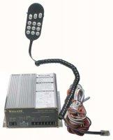 Profesionální výstražný systém s mikrofonem 300W