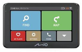 GPS navigace MIO Spirit 8670 GPS nákladní + karavan - Lifetime