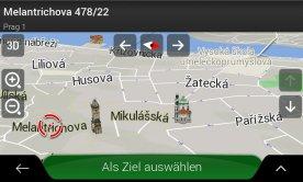 Navigační karta pro Zenec Z-E2050 , Z-E2060 , Z-E3150