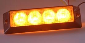 PROFI výstražné LED světlo vnější, 12-24V, ECE R65 homologace