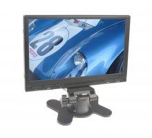 """LCD monitor 7"""" na palubní desku s IR vysílačem černý"""