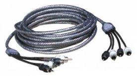Zealum ZC-TS500-4 500 cm 4-kanálový stíněný kabel RCA