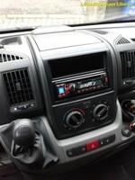 FIAT DUCATO - rádio s USB a handsfree