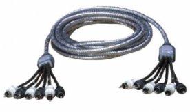 Zealum ZC-TS500-6 500 cm 6-kanálový stíněný kabel RCA